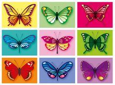 Butterflies ~ Julia Allum