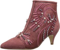 dd69c36860c Sam Edelman Women s Kami Fashion Boot Misty Rose Abstract Wave Embroidery 8  M US Abstract Embroidery