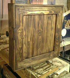 handmade available on Etsy UK #rustic #bathroom #cabinet in #eco-friendly #solid #wood under construction, now available to buy on #Etsy #UK prices from £170, designed by Marc and #handmade by our small team at #MarcWoodJoinery #Somerset #UK #custom sizes on request. #design #country #green #traditional #bedroom #home #living #slow #style #eco #industrial  #interiordesign #chunky #grain #knots #house #dining #bathroom #kitchen #cottage #farmhouse #wooden #ideas '#decor #storage #reclaimed…