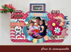 Te traemos un hermoso álbum floral, es una excelente idea para crear este fin de semana !!! checa los detalles está increíble !!! http://crea-lo-inimaginable.blogspot.mx/2015/11/mini-historia-cool.html #texturarte #scrapbook #manualidades #crafting #scrapbooking