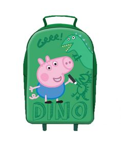 This Peppa Pig George Wheeled Trolley Bag is ideal for holidays and sleepovers when your little one wants to have a suitcase of their very own! FREE P+P available.