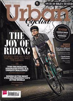 Urban Cyclist magazine Joy of riding Stainless steel bikes Amsterdam Frame bags