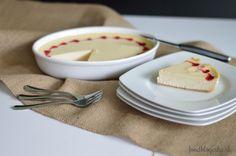 red heart baked vanilla cheesecake