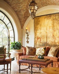 Old World Tuscan Living Room | Interior Design For The Living Room And  Family Room, Phoenix ... | Pinterest | Tuscan Living Rooms, Living Room  Interior And ...
