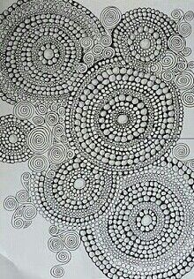 Circles within circles... white ink, shoulder