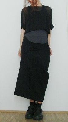 people wearing comme des garcons | SW has a pattern twin and I own it!