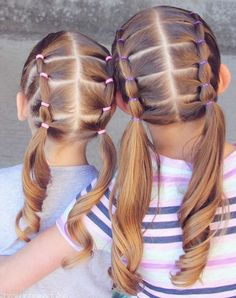 Latest braided hairstyles tutorials - All For Hairstyles DIY Latest Braided Hairstyles, Easy Toddler Hairstyles, Cute Little Girl Hairstyles, Cute Girls Hairstyles, Braided Hairstyles Tutorials, Pretty Hairstyles, Hairdos, Ponytail Hairstyles, Girl Hair Dos
