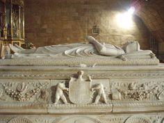 Sepulcro del Príncipe Don Juan II, Real Monasterio de Santo Tomás, Ávila, España, realizado por Domenico Fancelli (1469-1519) (escultura flamenca)