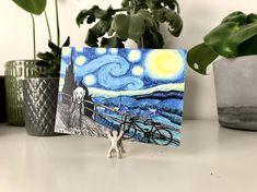 Sternennacht & der Schrei Postkarte Größe Druck Mini | Etsy Vincent Van Gogh, Moleskine Sketchbook, Art Journal Pages, Create Your Own, Mini, Artwork, Inspiration, Etsy, Instagram