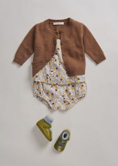 SS'16 Baby Look, Ylang Baby Cardigan, Mole Beige, Caramel Baby & Child.