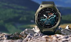 CASIO Smartwatch Revealed With 30 Days Battery And Android Wear