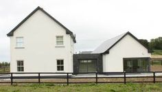 This rated, one-off house now at completion - Exterior Cottage Extension, Passive House, Shed Homes, A3, Exterior Design, House Plans, Kitchens, House Ideas, Outdoor Structures