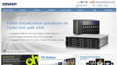 Qnap demonstrates app-centric qts 4.0, 400 tb nas solution, nas developers platform, viostor nvr firmware v4.1.0, and more at computex taipei 2013