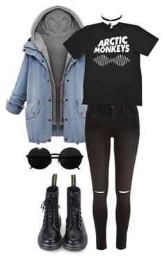 """Untitled #378"" by jabhy-bieber ❤ liked on Polyvore featuring River Island, Versace, Chicnova Fashion, women's clothing, women, female, woman, misses, juniors and indie"