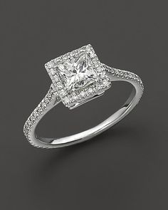 Your Style: Your sophistication is undeniable. You appreciate fine craftsmanship and tradition, so there's no doubt you'll want to wear the most perfect diamond stunner on your ring finger. Once it's yours, you'll never take it off and you'll always make sure it's polished. The Ring: Bloomingdale's Princess Cut Diamond Engagement Ring ($8,750) Source: Instagram user augustwillows