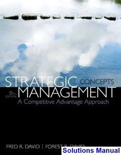 57 best solution manual download images on pinterest user guide strategic management a competitive advantage approach concepts 15th edition david solutions manual test bank fandeluxe Images