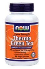 Now Foods Thermo Green Tea offers a convenient way to obtain the active constituents of Green Tea in a concentrated form. With 350 mg EGCg (Epigallocatechin Gallate).