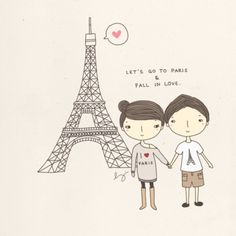 let's go to Paris and fall in love