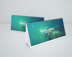 Free Double Calendar Mockup (44 MB) | Graphic Twister