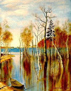 From Fine Art America  C2 B7 Lovely Painting Henryk Wonderful Tribute To Isaak Lewitans Original Painting
