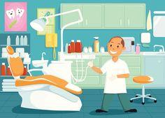 ¿Sabrías nombrar todas las cosas que hay en esta #consulta del #dentista? :D