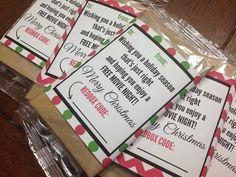 Gift Idea: Printable Popcorn Wrap {+ Redbox Rental}