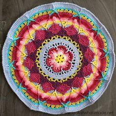 9 Besten Mandala Cal Bilder Auf Pinterest Crochet Patterns