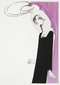 Fashion Illustration by artist JULIE VERHOEVEN