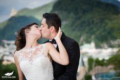 Hochzeit Schloss Mönchstein Salzburg - Claudia & Manuel - Foto Sulzer Blog Salzburg, Wedding Dresses, Blog, Fashion, Pictures, Engagement, Stones, Bride Dresses, Moda