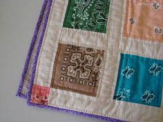 Bandana Quilt by Luísa Silva, via Flickr