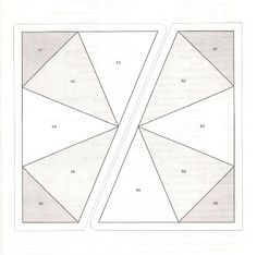 Hollyhock Quilts: FREE KALEIDOSCOPE FOUNDATION PAPER PIECING PATTERN!!
