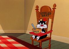 Discover & share this Looney Tunes GIF with everyone you know. GIPHY is how you search, share, discover, and create GIFs. Classic Cartoon Characters, Classic Cartoons, Cartoon Profile Pictures, Funny Pictures, Tierischer Humor, Sylvester The Cat, Tom Y Jerry, Vintage Cartoons, Looney Tunes Cartoons