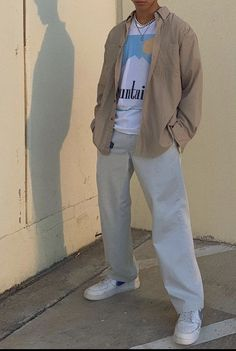 Indie Outfits, Retro Outfits, Cool Outfits, Casual Outfits, Street Style Outfits Men, Stylish Mens Outfits, Vetement Fashion, Mode Style, Mens Clothing Styles