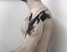 Lee Stewart's Brushstroke tattoos – Adolfo Riquelme Lee Stewart's Brushstroke tattoos Tattoo artist Lee Stewart blackwork abstract tattoo in auhors … Family First Tattoo, Family Tattoos, Girls With Sleeve Tattoos, Best Sleeve Tattoos, Tattoos For Guys, Rib Tattoos, Foot Tattoos, Anchor Tattoo Design, Heart Tattoo Designs