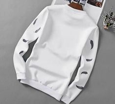 Fleece-back sweat Crew neck Ribbed cuffs and hem Regular fit - true to size Machine wash Cotton/Spandex Smart Attire, Mens Fashion, Fashion Outfits, Mens Clothing Styles, Cotton Spandex, Sweatshirts, Casual, Colors, Clothes
