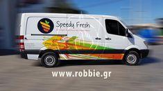 Σήμανση οχημάτων – Speedy Fresh (www.speedyfresh.gr) Η εταιρία Speedy Fresh επέλεξε την εταιρία μας για τη κάλυψη των οχημάτων της. Η εταιρία Speedy Fresh δραστηριοποιείται στις διανομές φρούτων και λαχανικών σε χώρους μαζικής εστίασης. Με ένα σύγχρονο κέντρο διανομής στην περιοχή το� Koi, Fresh
