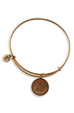 cute simple bracelet with my man's initial :) ...on my list of things to buy!