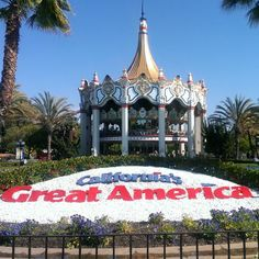 California's Great America en Santa Clara, CA