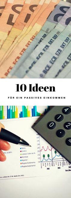 Hier findest du 10 Ideen für den aufbau eines passiven Einkommens für das Jahr 2018