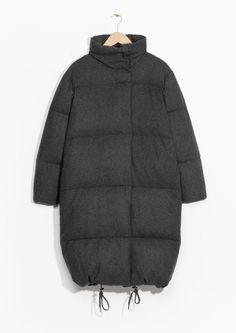 8d2143721e7c9 Other Stories | Quilted Coat Раздутые Куртки, Зимние Куртки, Зимние Пальто,  Зимние