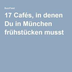 17 Cafés, in denen Du in München frühstücken musst