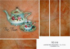 Decoupage LAMINAS DECOPAPER: TEA