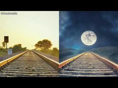 Snapseed tutorial - How to merge two images into one Photography Camera, Mobile Photography, Video Photography, Photography Tutorials, Photoshop Tips, Snapseed, Photo Effects, Project Life, Railroad Tracks