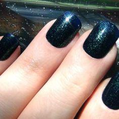 Design on Nails,Unique Nail Designs,Fashion Nail Art,Acrylic Gel Nails,Dark Blue…