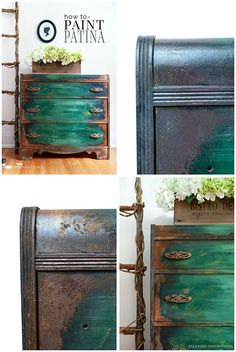 Easy How To ~ How To Paint Patina