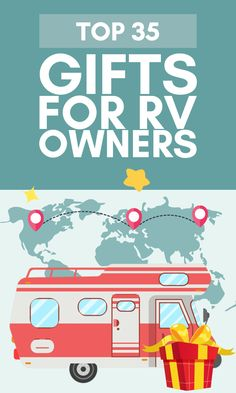 More than 70 million households in the U.S. consider themselves camping households.  Or perhaps you know one of the half-million Americans that call their RV their primary residence?  Give one our great gifts for RV