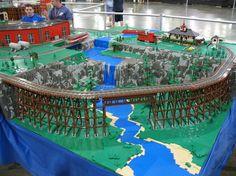 Lego Train Track Layout Ideas