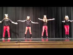 ▶ best one for children! What Does the Fox Say? (Talent Show Edition)… 3rd Grade Classroom, Autism Classroom, Kids Talent Show Ideas, Act For Kids, Show Dance, Student Council, Parents As Teachers, Girl Dancing, Best Teacher