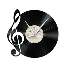 This Swiss wall clock is made from old vinyl records. With over a dozen different scenes to choose from, this upcycled clock will definitely refresh your living room.