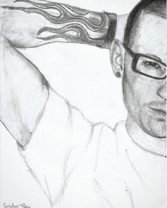 #drawing @chesterbe #linkinpark #chesterbennington